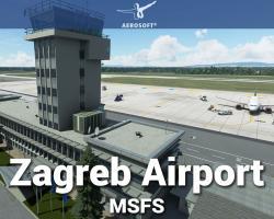 Zagreb Airport (LDZA) Scenery