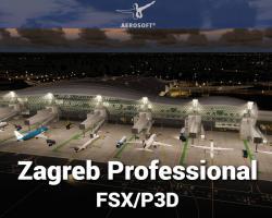 Zagreb Airport (LDZA) Professional Scenery